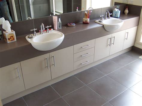 Bathroom Basins And Cabinets by Ensuite Vanity By Bourke S Kitchens Semi Recessed Basins
