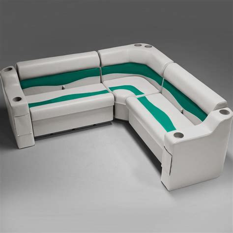 Boat Seats Teal by Pontoon Bench Seats Crg73 Pontoonstuff