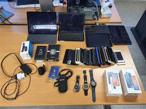 Some thousand stolen objects recovered by Brussels police
