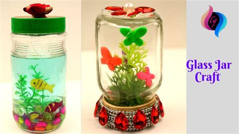 Decorating Ideas Glass Jars by Glass Jar Crafts Reuse Ideas 2 Uses For Glass Jars