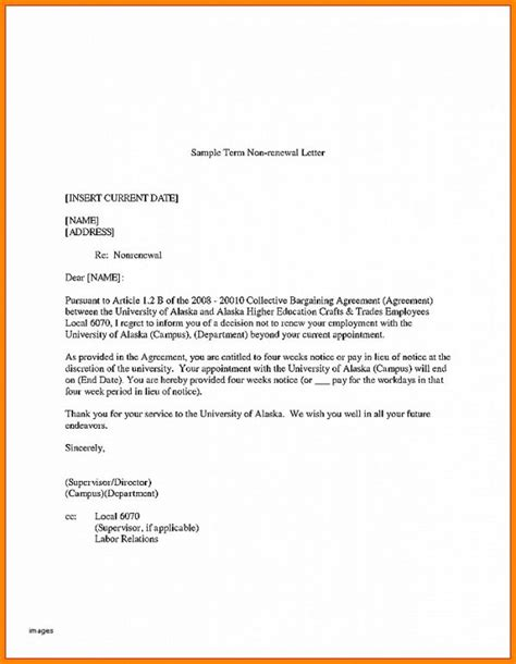 tenant renewal letter resignation letter elegant not resigning lease letter