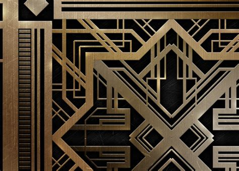How To Create A Great Gatsby Style Art Deco Pattern