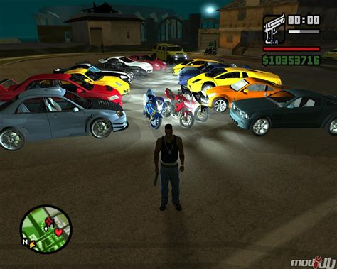 Various Cars In The Mod Image