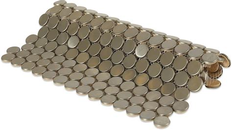 shop    metal penny  brushed matte stainless
