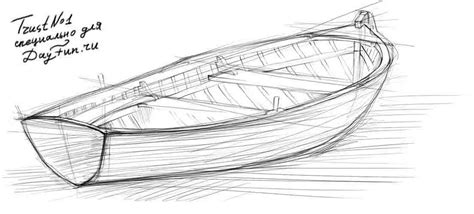 How To Draw A Fishing Boat Step By Step by How To Draw A Boat Step By Step Arcmel