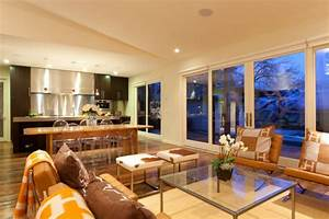 20 Open Kitchen Living Room Designs Ideas Design