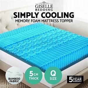 bamboo memory foam mattress toppercool gel memory foam With cooling pillow top mattress topper