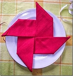 20 Plus Napkin Folding Styles - Page 3 of 5 - Setting for Four