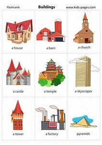 Buildings Flashcard