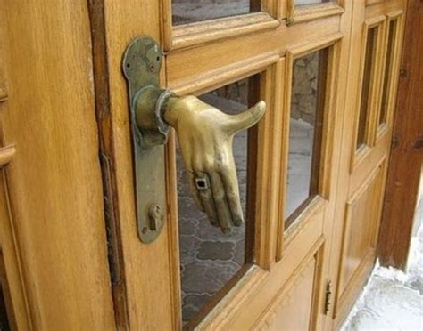 Possibly The Most Unusual Front Door Handle Ever… An