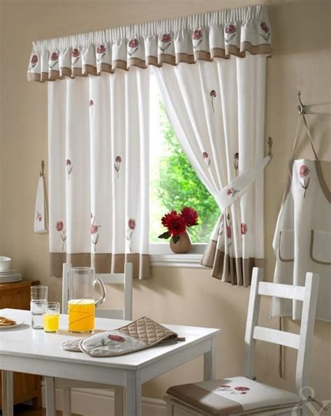 curtains ideas contemporary kitchen curtain designs interior design Kitchen