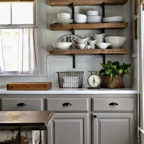 New Kitchen Shelves Instead Of Cabinets   GL Kitchen Design