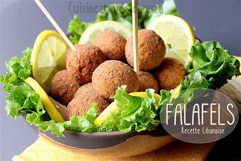recettes cuisine libanaise falafel