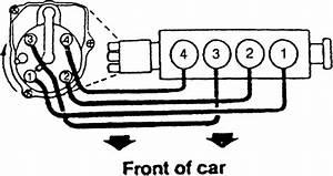 1997 Honda Civic Firing Order  4 Cylinder