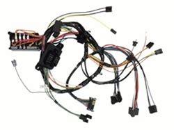 1968 Firebird Wiring Harnes by 1968 Firebird Dash Wiring Harness Console Shift Auto With