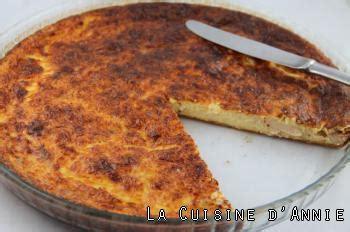 recette quiche au thon sans pate recette quiche sans p 226 te au thon la cuisine familiale un plat une recette