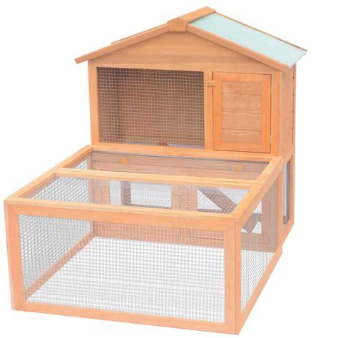 gabbie per conigli da esterno vidaxl gabbia per conigli da esterno in legno vidaxl it