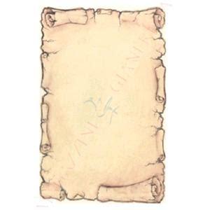 cornice foglio a4 foglio diploma pergamena a4 avorio con cornice 160gr 10fg