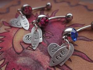 Personalized Best Friends 4ever forever dangle by ...