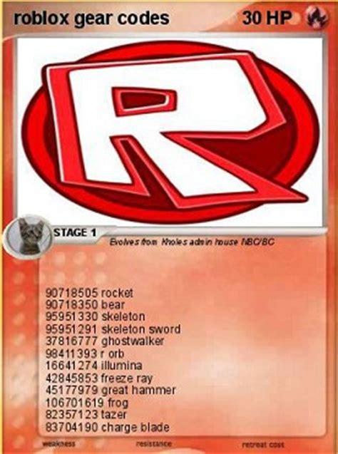 Gear Id Codes In Roblox Roblox Sword Gear Codes