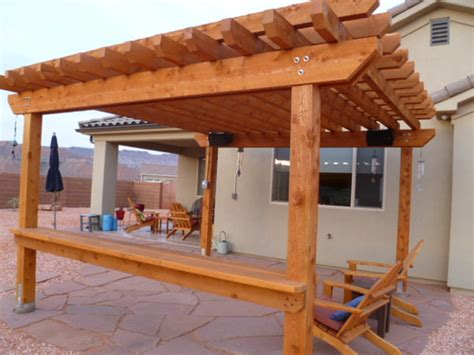 pergola beam span table modern coffee tables  accent