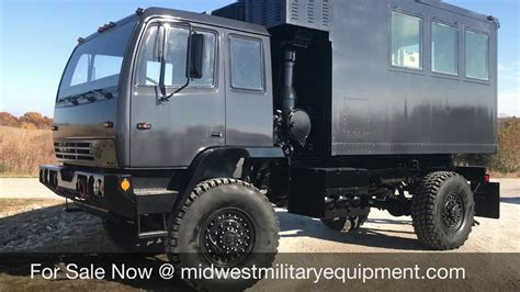 custom built  stewart stevenson  camper truck youtube