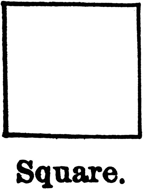 square clipart black and white black and white square clip cliparts