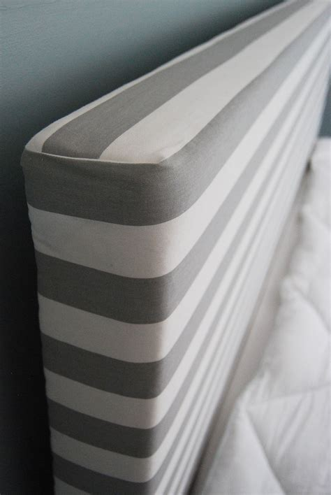 Diy Upholstered Headboard Different Fabric And Maybe