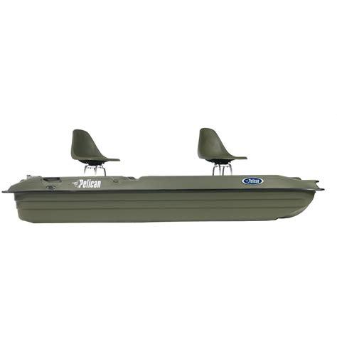 Fishing Boat Club Reviews by Pelican Bass Raider 10e Fishing Boat Khaki 206260