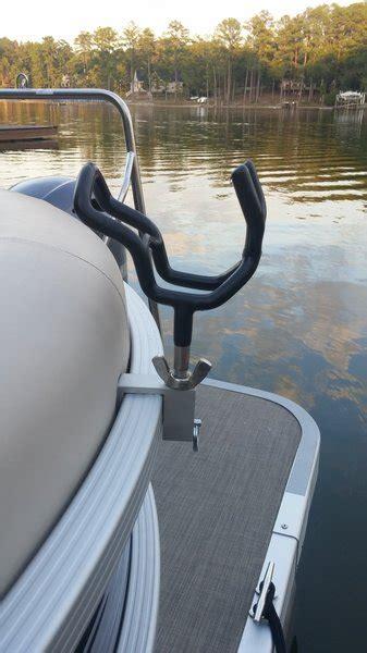 Pontoon Rod Holders by 3 8 Quot Rod Holder Clip 2 Pack Pontoon Boat Rod Holder