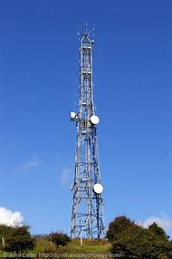 Microwave Radio Antenna Towers
