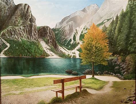 Vendita quadro - Paesaggio di montagna - Giacomo Ianniello ...