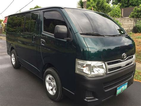 Toyota Hiace Commuter 2012 Model Acquired 2013 For Sale