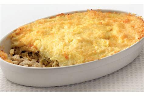 ovenschotel met vis en aardappelpuree recept allerhande albert heijn