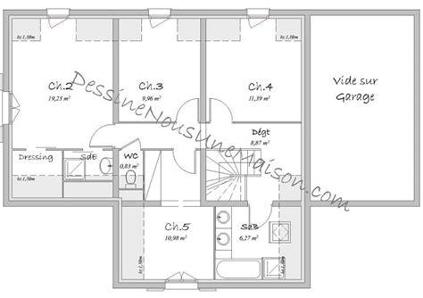 plan de maison plain pied 3 chambres gratuit plan de maison traditionnelle gratuit plan maison plain