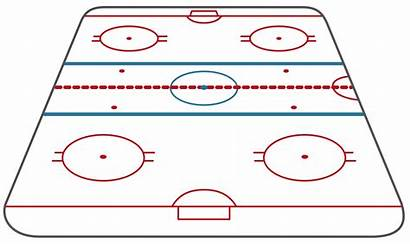 Hockey Rink Ice Clipart Diagram Template Conceptdraw