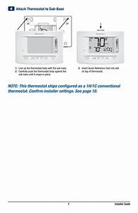 Attach Thermostat To Sub