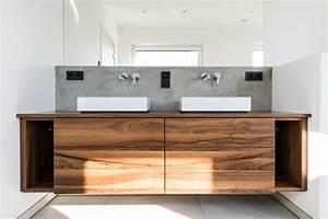 Waschtisch Holz Modern : moderner waschtisch mit klasischen materialien modern badezimmer d sseldorf von proest ~ Sanjose-hotels-ca.com Haus und Dekorationen