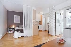 Zimmer Trennen Ikea : wohn schlafzimmer gestalten ~ A.2002-acura-tl-radio.info Haus und Dekorationen