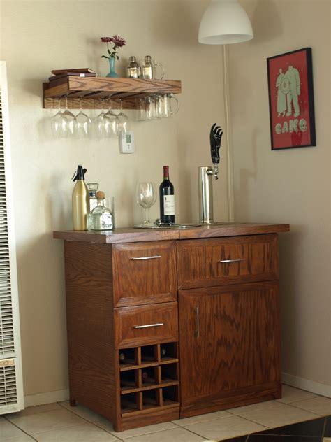 pottery barn wine bar  kegerator inspiration