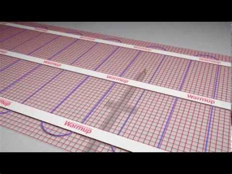 Platten Für Fussbodenheizung by Fu 223 Bodenheizung Pfm Installation Verlegung Heizmatte Mit