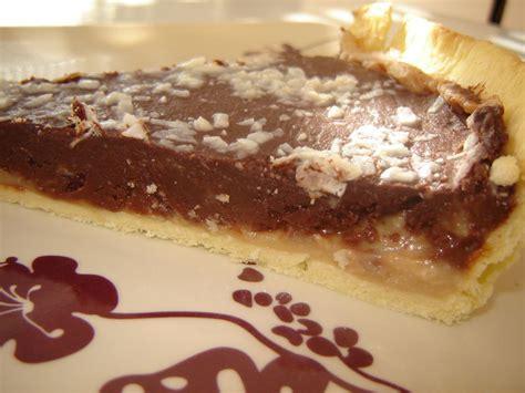 tarte choco coco banane un peu de r 234 ve dans ma cuisine