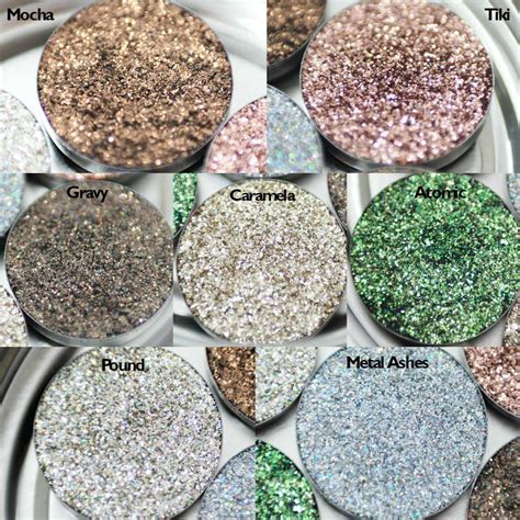 Glitter Tubes Pressed Glitters Review and Swatches