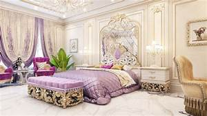 Admirable Master Bedroom Design in Dubai by Luxury