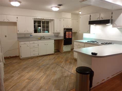 Kitchen Island With Trash Bin Interior Flooring Cool Vinyl
