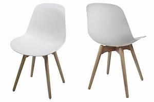 Chaise Bébé Scandinave : chaise nordic design style scandinave blanc mykaz ~ Teatrodelosmanantiales.com Idées de Décoration