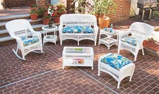 white wicker patio furniture furniture net