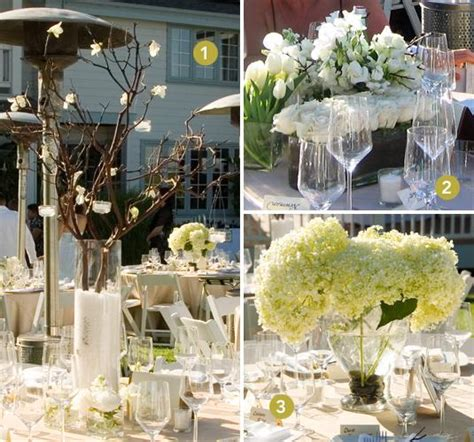 centerpieces for wedding tables favors ideas