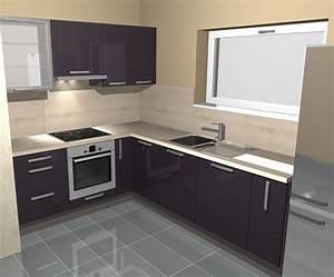 modele cuisine equipee cuisine en image With modele de petite cuisine