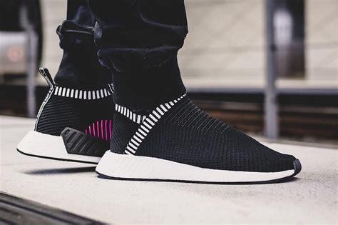 adidas nmd city shock putih the adidas nmd city sock 2 primeknit shock pink pack